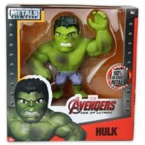 Bosszúállók Avengers Hulk fém játékfigura mozgatható karral 15 cm
