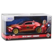 Bosszúállók Avengers Iron Man 2016 Chevy Camaro fém autó 1:32