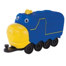 Chuggington Brewster Brúnó vonat játékfigura kicsi