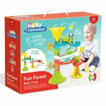 Clementoni Baby Fun Forest vidám erdőlakós babapálya játékszett