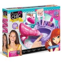 Clementoni Crazy Chic Lovely Make Up Sparkling Nails manikűr készítő szett