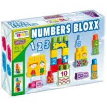 Építőkocka Játszva Tanulni Számok Maxi Bloxx 34 db-os
