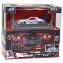 Fast & Furious Brian's Nissan Skyline GT-R R34 fém autó készlet