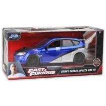Fast & Furious Brian's Subaru Impreza WRX STI fém autó 1:24