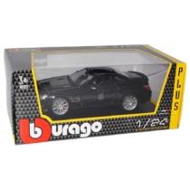 Fém autó Mercedes SL 65 fekete 1:24 Bburago