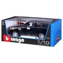 Fém autó Range Rover Sport fekete 1:18 Bburago