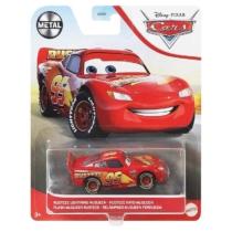 Fém kisautó Verdák Rusteze Lightning McQueen piros