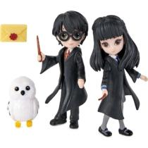 Harry Potter barátság szett Harry, Cho és Hedvig mágikus mini figurával