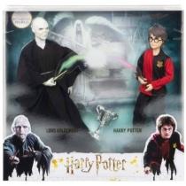 Harry Potter és Lord Voldemort játékfigurák kiegészítőkkel