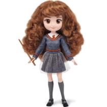 Harry Potter Hermione játékfigura varázspálcával műanyag 18 cm