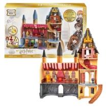 Harry Potter Roxfort kastély játékszett kiegészítőkkel hang és fény effektekkel 55 cm