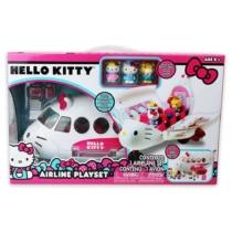 Hello Kitty repülő figurákkal és kiegészítőkkel műanyag