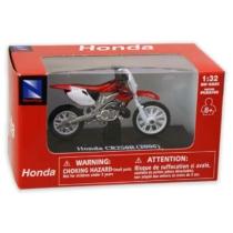 Honda CR250R (2006) fém motor műanyag borítással 1:32