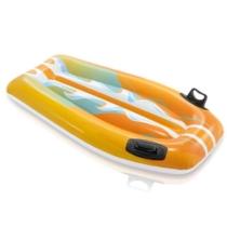 Intex Felfújható lovagló szörfdeszka sárga 112 cm
