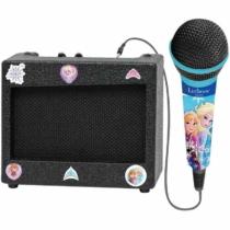 Jégvarázs 2 hordozható hangszóró karaoke mikrofonnal