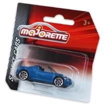 Majorette Alfa Romeo 4C Spider fém kisautó kék 1:64