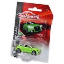 Majorette Audi A1 237E-3 fém kisautó zöld 1:64