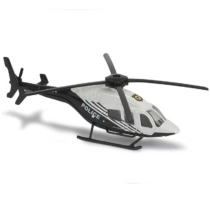 Majorette Bell 429 amerikai rendőr fém helikopter