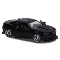 Majorette Chevrolet Camaro 279B-1 fém kisautó fekete 1:64