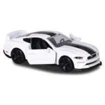 Majorette Ford Mustang GT 204C-1 fém kisautó fehér 1:64