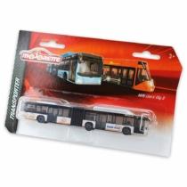 Majorette MAN Lion's City G fém busz ezüst 18,5 cm