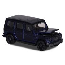 Majorette Mercedes-Benz G 500 250D-1 fém kisautó sötét kék 1:64