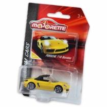 Majorette Porsche 718 Boxster 209G-1 fém kisautó sárga 1:64