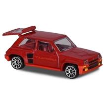 Majorette Renault 5 Turbo 210B-1 fém kisautó piros 1:64