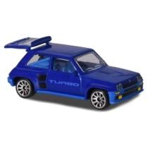 Majorette Renault 5 Turbo 210B-3 fém kisautó kék 1:64