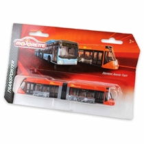 Majorette Siemens Avenio Tram fém villamos piros 18 cm