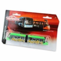Majorette Siemens Avenio Tram fém villamos zöld 18 cm