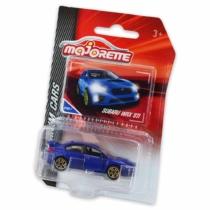Majorette Subaru WRX STI 275D-1 fém kisautó kék 1:64