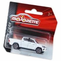 Majorette Toyota Hilux Revo fém kisautó fehér 1:64