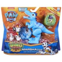 Mancs őrjárat Dino Rescue Marshall és Velociraptor figura műanyag