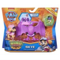 Mancs őrjárat Dino Rescue Skye és Pterodactyl figura műanyag