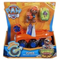 Mancs őrjárat Dino Rescue Zuma deluxe jármű figurával műanyag