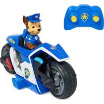 Mancs őrjárat RC rendőrmotor távirányítós figurával Chase műanyag