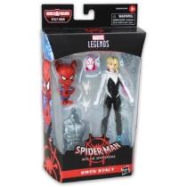 Marvel Legends Spider Man Gwen Stacy játékfigura kiegészítőkkel