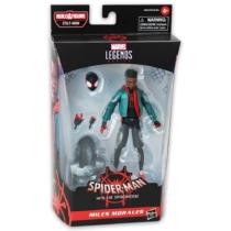 Marvel Legends Spider Man Miles Morales játékfigura kiegészítőkkel