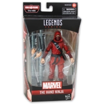 Marvel Legends Spider Man The Hand Ninja játékfigura kiegészítőkkel