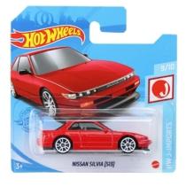 Hot Wheels fém kisautó Nissan Silvia (S13) piros