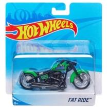 Mattel Hot Wheels fém motor műanyag borítással Fat Ride