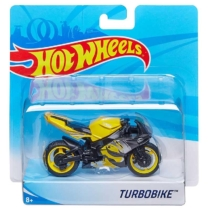 Mattel Hot Wheels fém motor műanyag borítással Turbobike