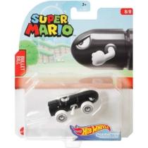 Mattel Hot Wheels Super Mario Bullet Bill fém kisautó 8/8