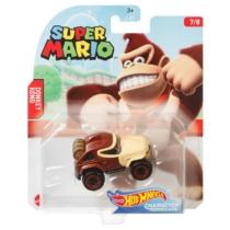 Mattel Hot Wheels Super Mario Donkey Kong fém kisautó 7/8