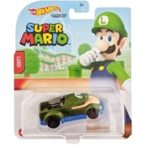 Mattel Hot Wheels Super Mario Luigi fém kisautó 2/8