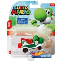 Mattel Hot Wheels Super Mario Yoshi fém kisautó 4/8