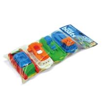 Mini hajó készlet fürdőjáték 4 db-os műanyag