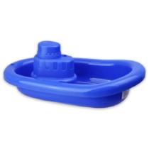 Műanyag hajó kék 21 cm
