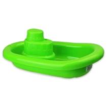 Műanyag hajó zöld 21 cm